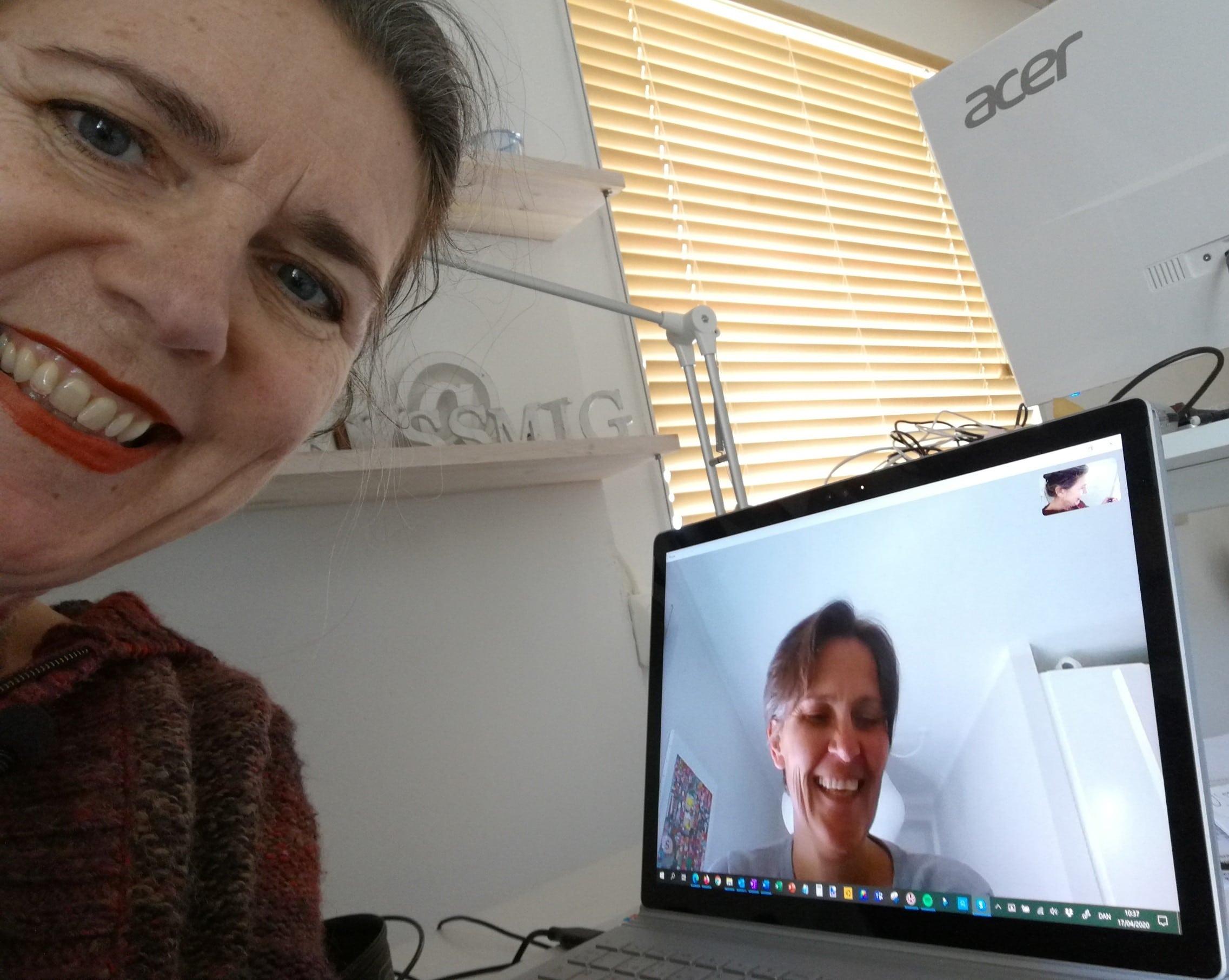 Lene Junker Wiberg deltager i Historier fra Coronaland