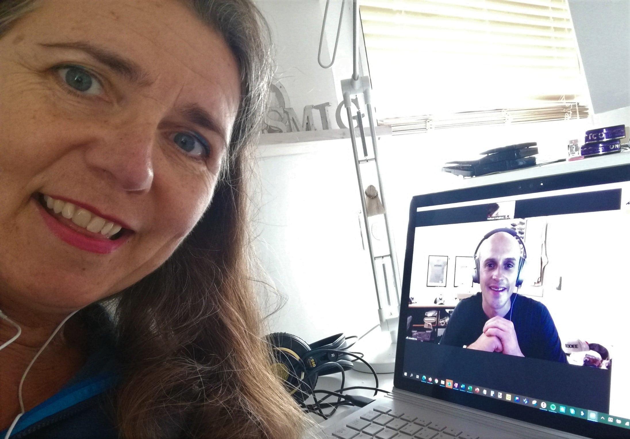 Esben Blicher er gæst i Historier fra Coronaland