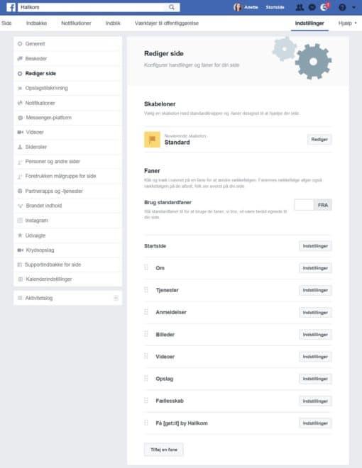 Hallkom-tip Facebook Mailchimp 6