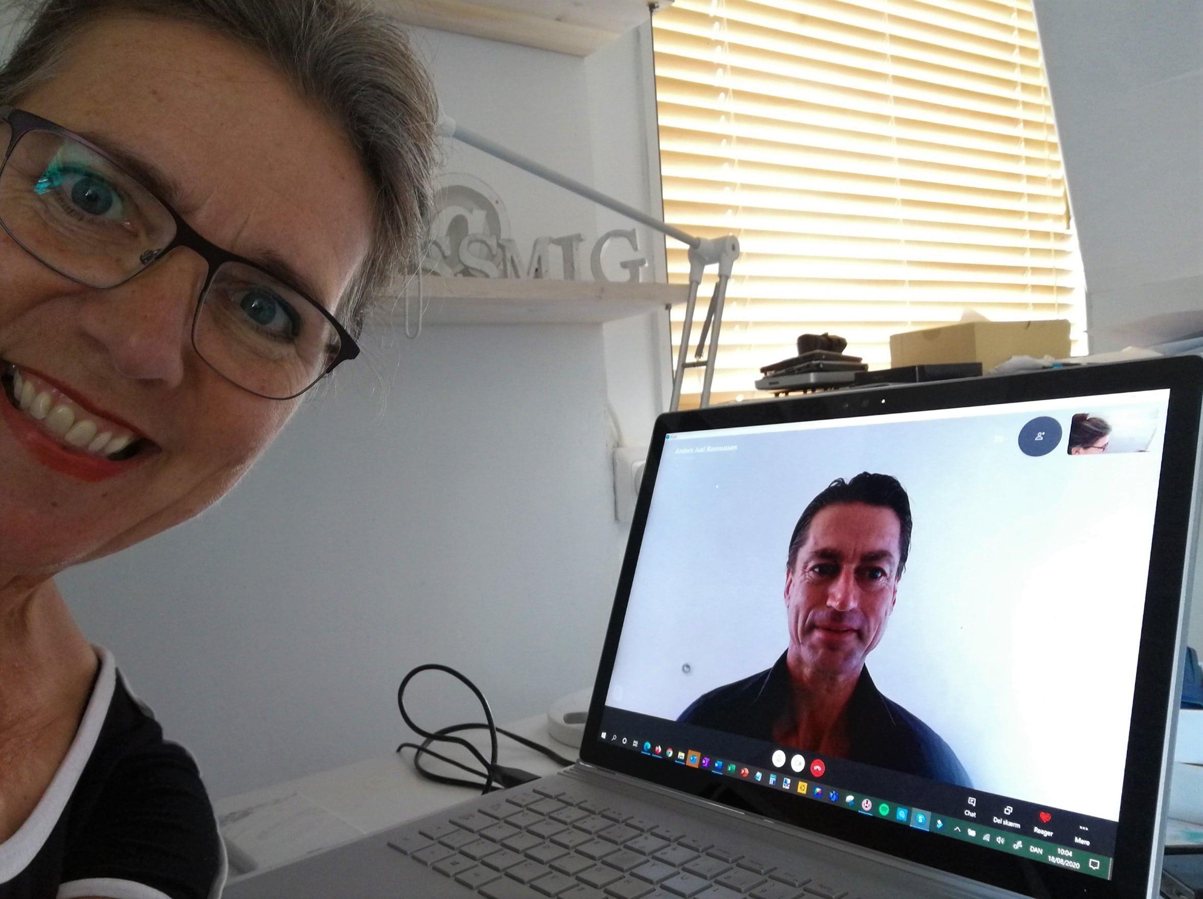 Anders Juel Rasmussen gæster Historier fra Coronaland