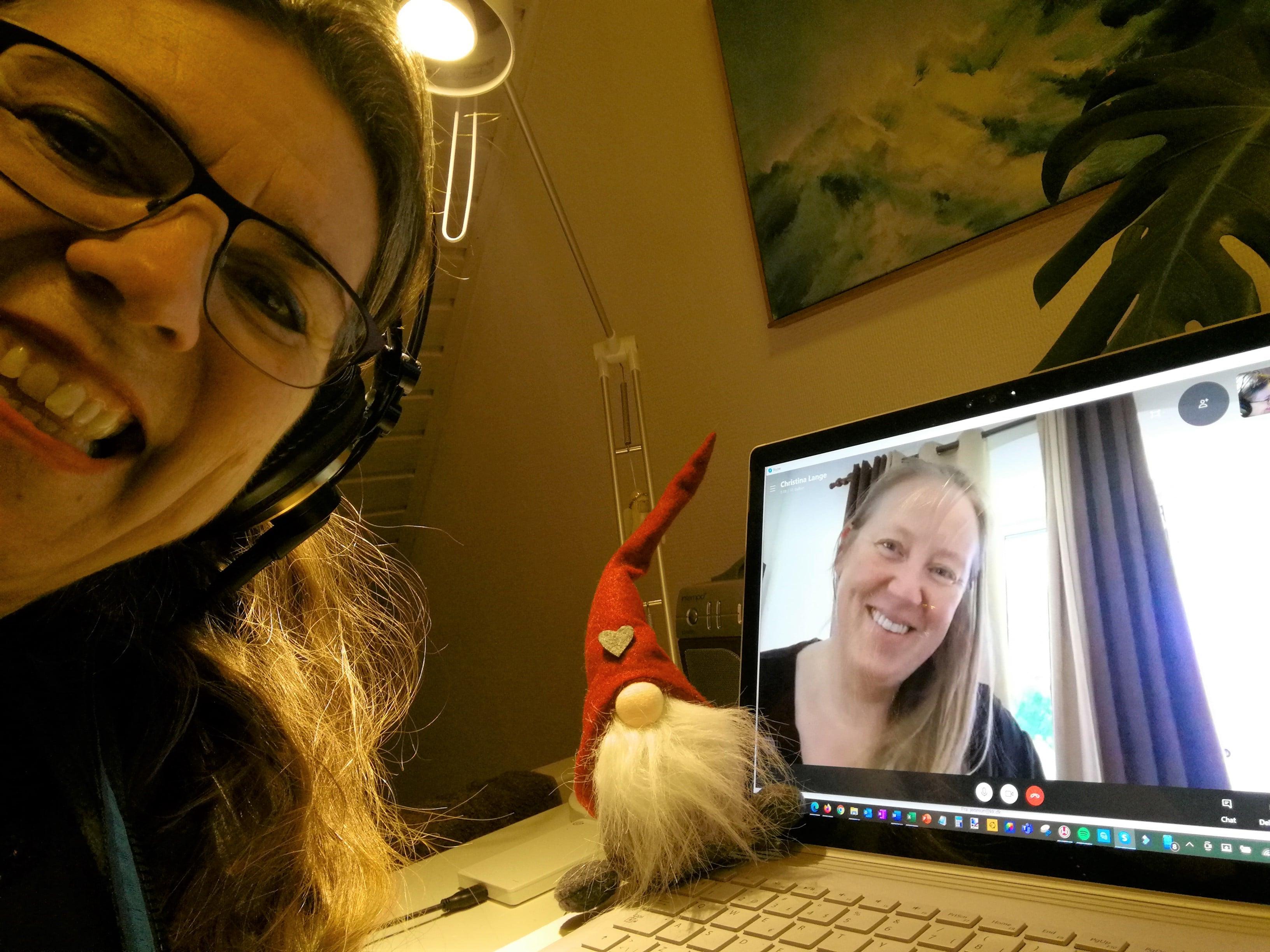 Christina Lange er gæst i Historier Fra Coronaland