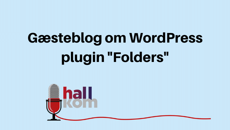 Step-by-step guide til WordPress pluginnet Folders