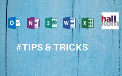 Tips&Tricks der vil gøre dig til en Office-haj