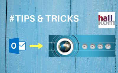 Outtlooktip: Sådan arbejder du i forskellige tidszoner