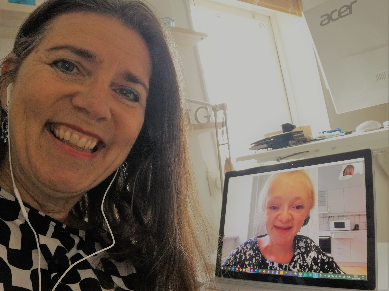 Marie Holm Laursen gæster podcasten Historier fra Coronaland